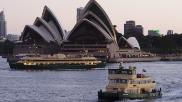 Ferries will operate on different timetables in the holiday period.