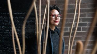 Maria Fernanda Cardoso at her Sydney home.
