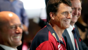 Paul Roos, on the panel to select the new coach.