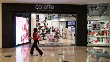 Handbag seller Colette by Colette Hayman will shut 33 stores.