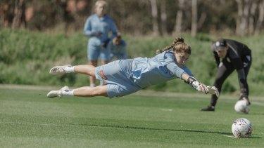 Melbourne City goalkeeper Teagan Micah could be the next Matildas No.1.
