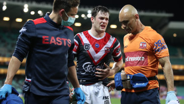 'Just a flesh wound': But the Roosters have been without Luke Keary since mid-August.
