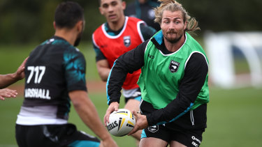 Kieran Foran will be reunited with Benji Marshall in the halves for New Zealand on Saturday.