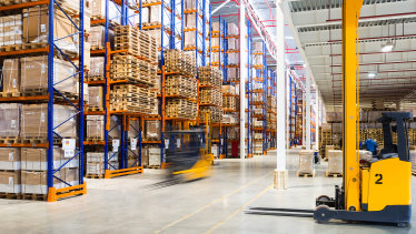 Institutional players are shifting portfolios from retail to logistics.