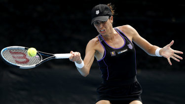 Australia's Ajla Tomljanovic took a mixed back of results away from the Fast4 tournament in Florida.