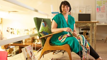 Crafter, author and heart-mender Pip Lincoln.