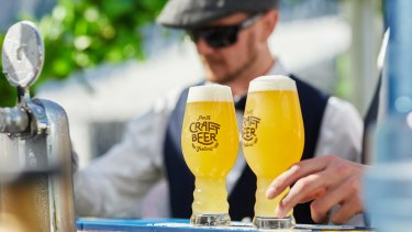 There's a special treat in store at the Perth Craft Beer Festival over the Father's Day weekend.