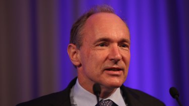 Sir Tim Berners-Lee created the world wide web system that forms the basic architecture of the internet 30 years ago.