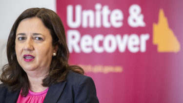 Premier Annastacia Palaszczuk announces the date for the reopening of Queensland's border.