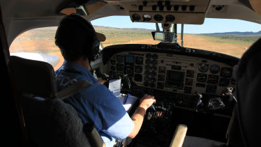 The Royal Flying Doctor lands in Yunta (population 40), SA, to provide services. It is 200 km away from the nearest town with primary care services.