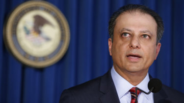 New York attorney Preet Bharara, whose prosecutions inspired Billions.
