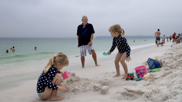 Former president of the Hyams Beach Villagers Association, Morgan Sant is calling out for visitors to spend locally.
