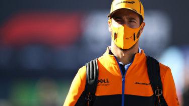 McLaren driver Daniel Ricciardo.