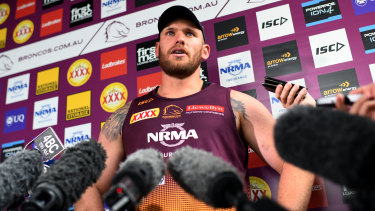 Matt Lodge missed out on the captaincy of the Broncos amid complaints from former players.