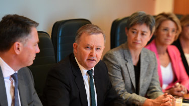 Anthony Albanese appointed Tim Gartrell to be his chief-of-staff after he became Labor leader.