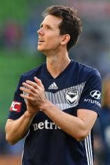 Melbourne Victory star Robbie Kruse.