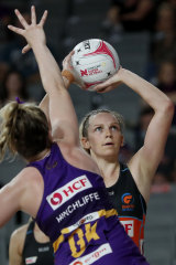 Giants shooter Jo Harten is the league's most prolific from two-point range.