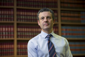 Criminal Bar Association of Victoria chair Daniel Gurvich.