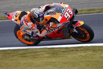 Motoring: Marc Marquez.