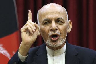 Incumbent President Ashraf Ghani was declared the winner of the September election.