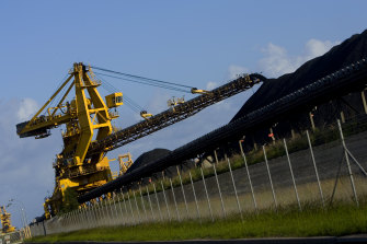 Production from BHP's NSW coal division decreased by 11 per cent in the December quarter.