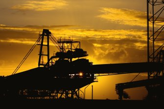 The NSW government forecasts no early sunset for coal exports.