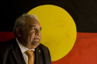 Tom Calma, Calma, now the Chancellor of the University of Canberra, pictured in 2010.