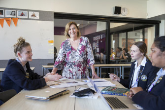 Mount St Joseph Girls' College principal Kate Dishon says the whole school has worked hard to improve results.