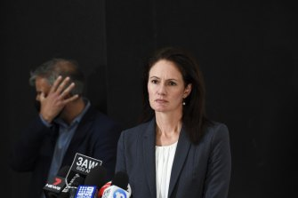 Former Corrections Commissioner Emma Cassar has been in charge of hotel quarantine since it opened for a second time in December.