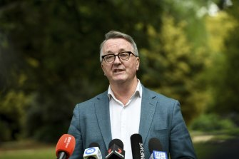 Victorian Health Minister Martin Foley.