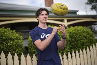 Ollie Henry was picked up by the Pies.