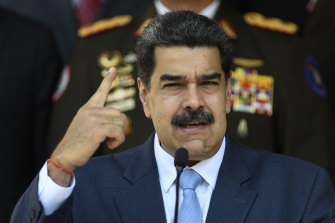Venezuelan President Nicolas Maduro says the coup attempt was organised with help from Washington.