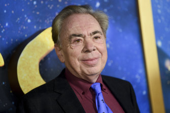 """""""There is no way forward"""": Andrew Lloyd Webber."""