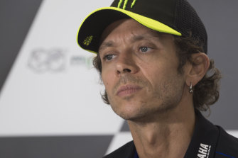 Seven-time MotoGP champion Valentino Rossi is counting his blessings after the Austrian Grand Prix.