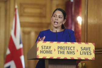 "Britain's Home Secretary Priti Patel says there is ""no magic solution"" to strains on COVID-testing regime."