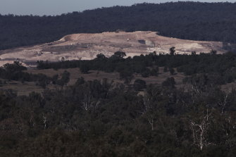 Whitehaven's Maules Creek coal mine in northern NSW. The miner has been fined for breaches but will pay out a lot less than the maximum penalties.