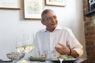 """William Mora looks back on his baptism of fire in the restaurant business: """"At 17 or 18, I had 35 staff.″"""