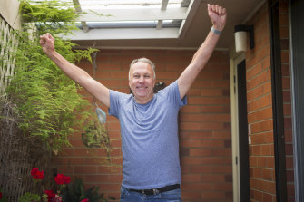 Wayne Hyde is looking forward to getting to his holiday house in Venus Bay.