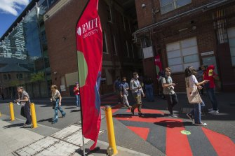 Orientation week events attracted a smaller, COVID-safe crowd at RMIT University this week.