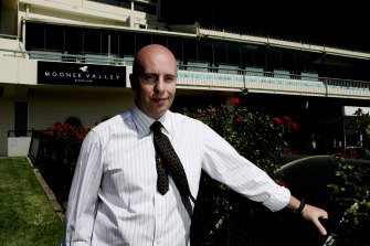 Moonee Valley CEO Michael Browell says the Cox Plate may be cancelled this year rather than staged behind closed doors.