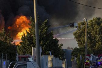 The 2019 Campbellfield fire.