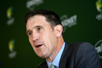 Former cricket boss James Sutherland has joined the Geelong board.