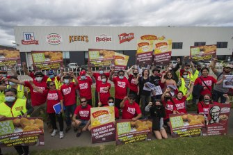 McCormick workers have gone on an indefinite strike.
