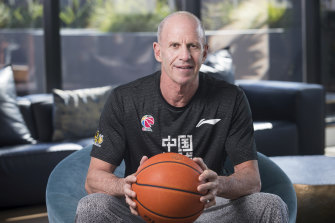Brian Goorjian is back on the NBL circuit following a successful stint in China.