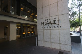 The hotel quarantine worker last worked at the Grand Hyatt on January 29 and was tested at the end of their shift, returning a negative result. He tested positive on February 2.
