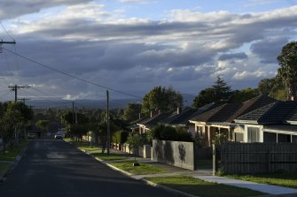 House prices and building approvals are soaring in regional Victoria.