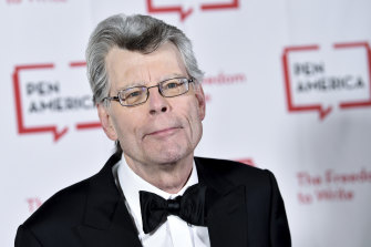 Stephen King, pictured in 2018, has deactivated his Facebook account over privacy concerns.