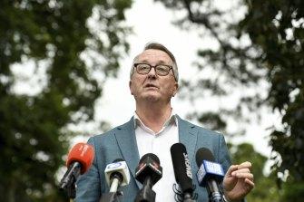 Victorian Health Minister Martin Foley announces the resumption of the AstraZeneca vaccine rollout in Victoria.