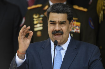 Venezuelan President Nicolas Maduro is engaged in a war of words with the United States.
