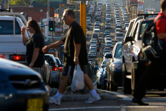 High rates of migration have been blamed for worsening traffic congestion and other urban challenges